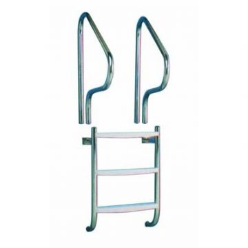 "Certikin 1.5""/38mm Undercover Ladder with Grabrails - Concrete Pools"